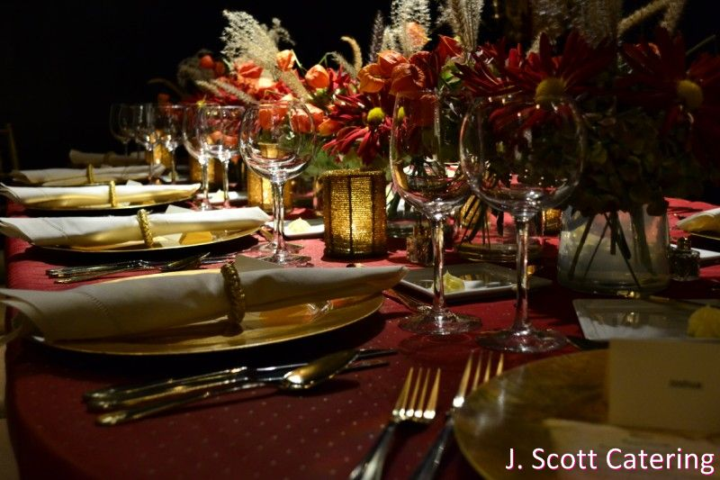 A Small Elegant Dinner Party Fall Version