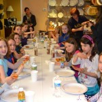 Girl Scouts at J Scott Catering