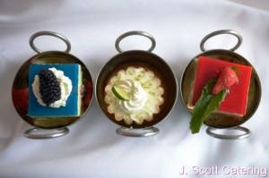 J. Scott Catering Dessert Station Options