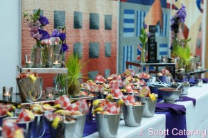 J. Scott Catering Stations Event for Corporate Client in Chester County, PA