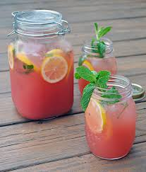 Mint Watermelon Lemonade