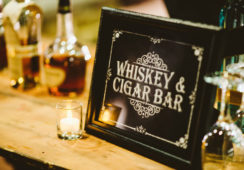 whiskey & cigar bar