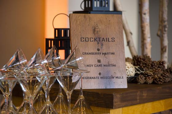 Wooden Cocktail Bar Sign