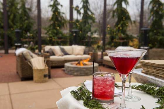 Outdoor Holiday Cocktails