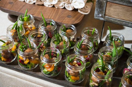 Beet Salad in Mason Jars Adorable Presenation