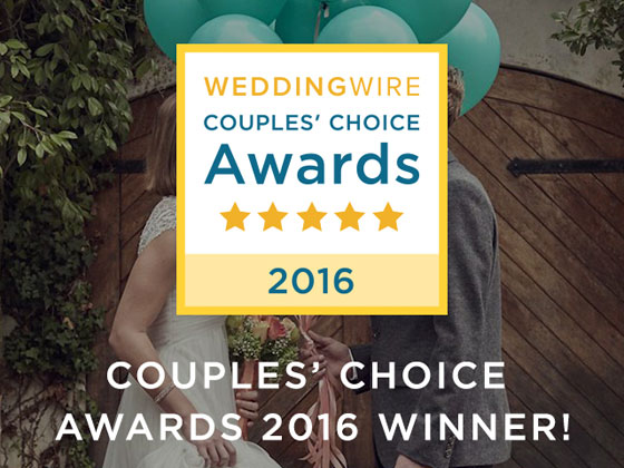 J. Scott Catering Wins WeddingWire Couples' Choice Award