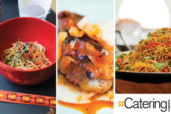 Catering Magazine Feature Asian Influence