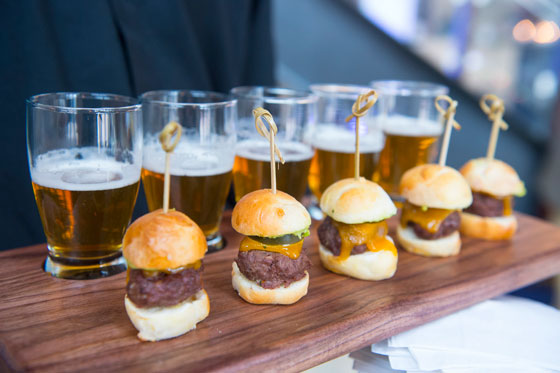 Mini Slider Appetizers for a Holiday Party