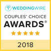 WeddingWire 2018 Couples' Choice Award