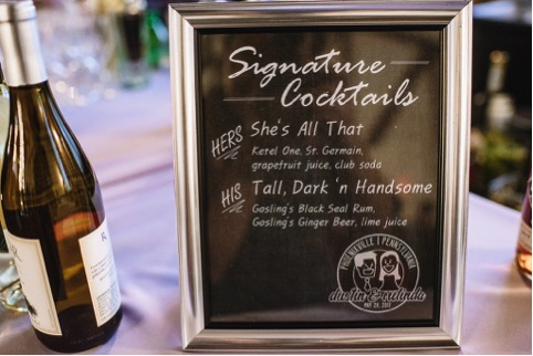 Signature Cocktails for Weddings 2018