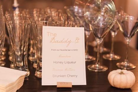 Signature Cocktails for Wedding Inspiration