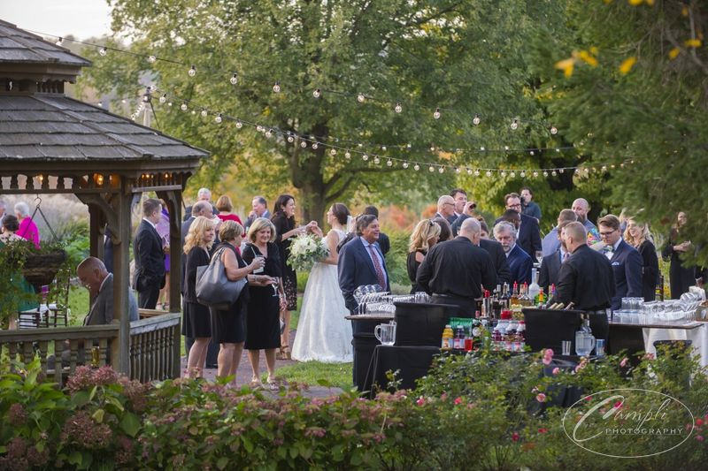 Cocktail Hour at Springton Manor Farm Wedding