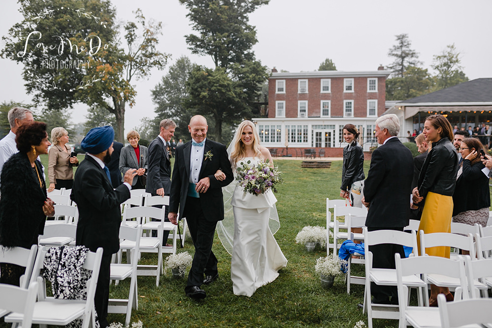 Outdoor Wedding Reception Radnor Hunt