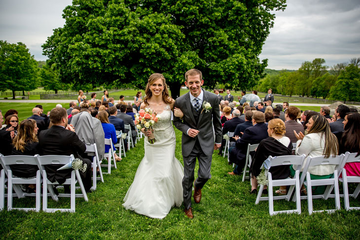 Outdoor Ceremony at the Linden Tree
