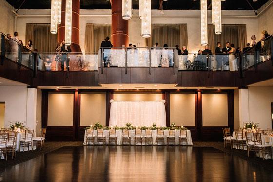 Foundry Cupola Ballroom and Mezzanine