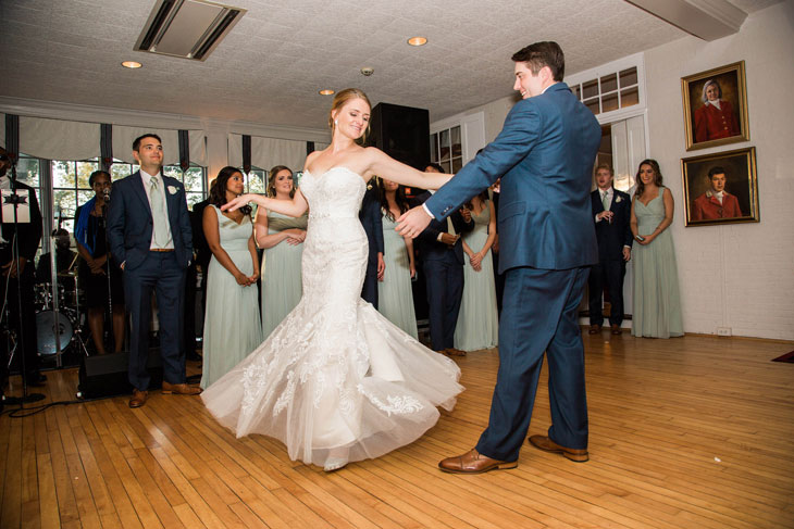 Wedding Dance at Radnor Hunt