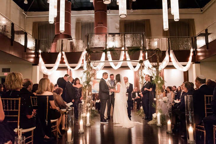 Wedding Reception in Phoenixville Foundry