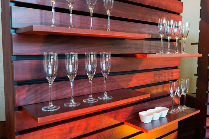 Beautiful Wood Wine Wall for Events