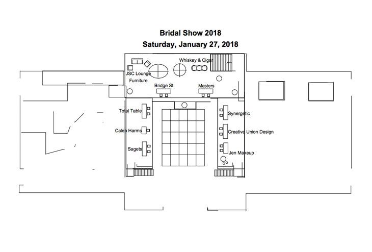 Bridal Show Layout
