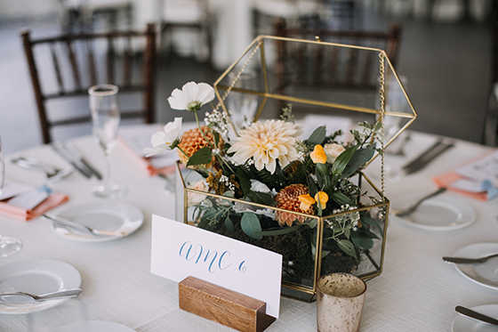 fancy center piece wedding