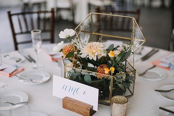 fancy center piece wedding