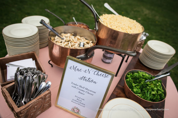 Mac and Cheese Station