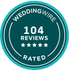 JSC has over 100 reviews on weddingwire