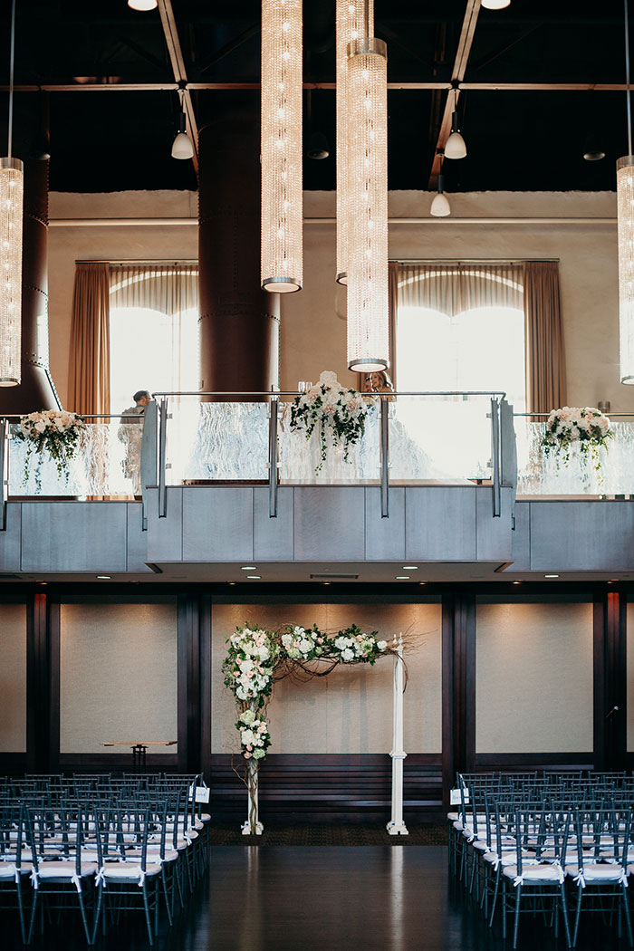 Charming Ceremony in the Cupola Ballroom