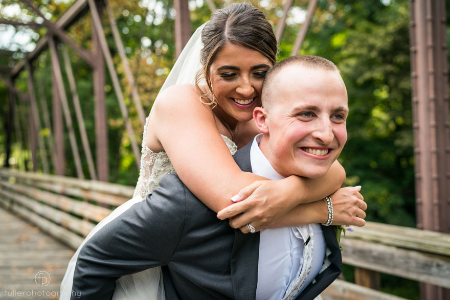 Phoenixville Foundry Bride and Groom