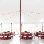 Reception in the Tent at Springton Manor Farm