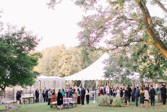 Rental Tents for Outdoor Wedding