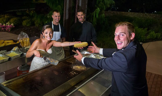 Philly Cheesesteaks at Wedding