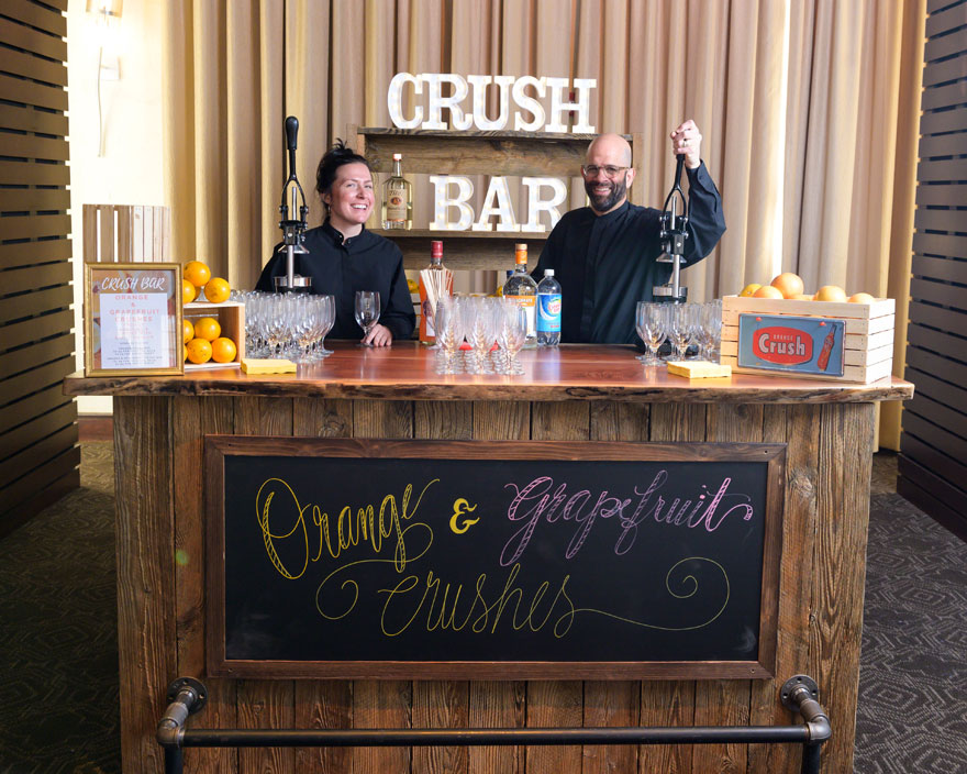 Crush Bar at Philadelphia Wedding
