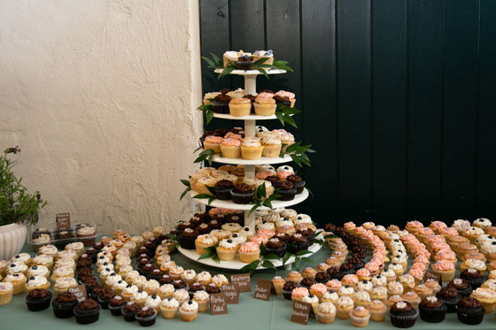 Cupcake Desserts Philadelphia Wedding Menu