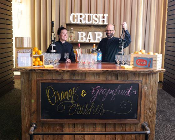 Crush Bar at Philadelphia Wedding