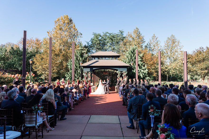 Outdoor Wedding at Phoenixville Foundry