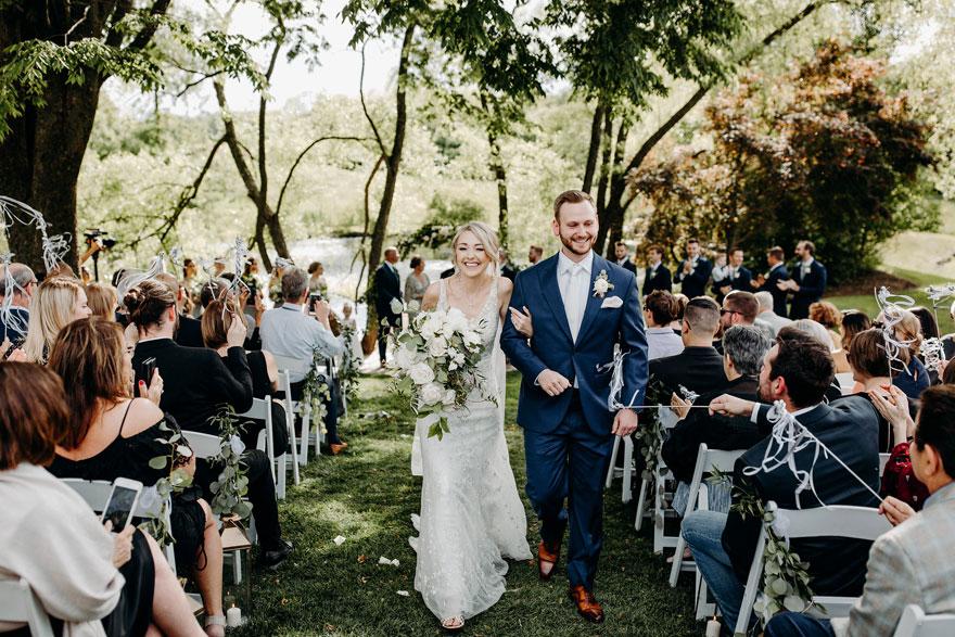 Lauren & Philip's Elegant Wedding at The Farm at Eagles Ridge Wedding