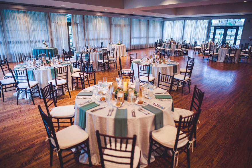 Fall Wedding Table Settings and Decor at Radnor Hunt