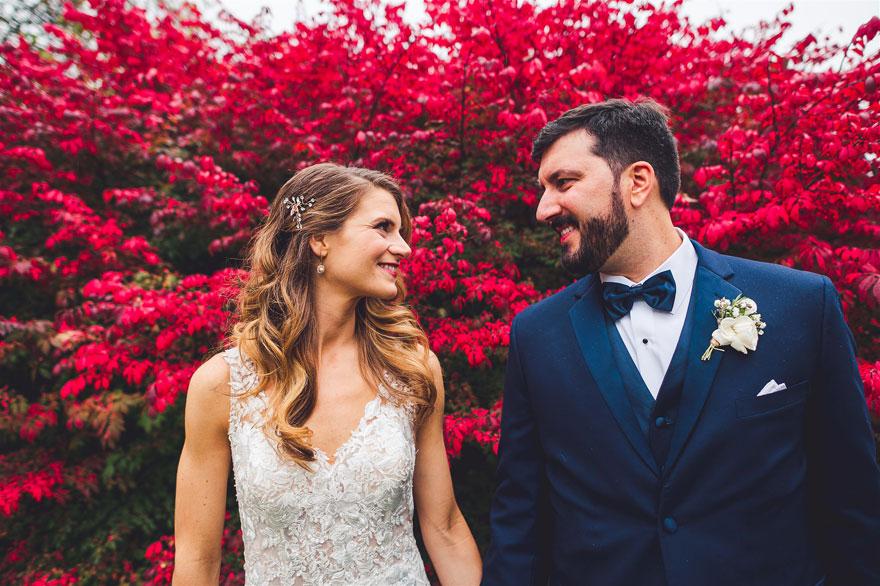 Adriane & Jason's Fall Countryside Wedding at Radnor Hunt